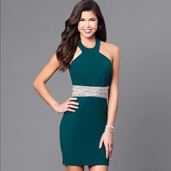 2cd839bc1f5 Bottle Green Holiday Dress. NWT. Macy s